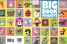 Annie's Plastic Canvas Big Book of Magnets