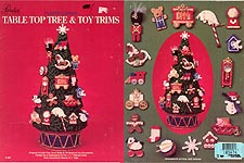 Paradise Publications Plastic Canvas Table Top Tree & Toy Trims