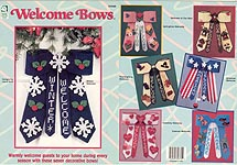 HWB Plastic Canvas Welcome Bows