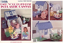LA Pack 'N' Go Playhouse in Plastic Canvas