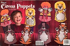 TNC Plastic Canvas Circus Puppets
