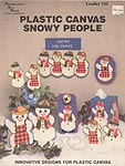 Needlecraft Ala Mode Plastic Canvas Snowy People