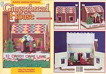 HWB Plastic Canvas Gingerbread House