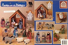 Annie's Attic Plastic Canvas Away in a Manger