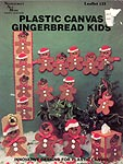 Needlecraft Ala Mode Plastic Canvas Gingerbread Kids