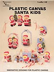 Needlecraft Ala Mode Plastic Canvas Santa Kids
