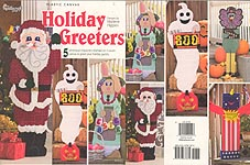 Holiday Greeters from The Needlecraft Shop