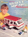 The Needlecraft Shop Plastic Canvas Rescue Squad Ambulance