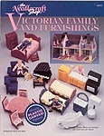 The Needlecraft Shop Plastic Canvas Victorian Family & Furnishings
