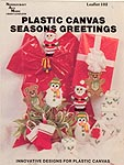 Needlecraft Ala Mode Plastic Canvas Season's Greetings