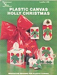 Needlecraft Ala Mode Plastic Holly Christmas