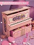 Annie's Fashion Doll Plastic Canvas Club: Floral Piano Jewelry Box