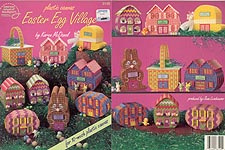 ASN Plastic Canvas Easter Egg Village