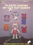 Needlecraft Ala Mode Plastic Canvas My Cut Out Bunny