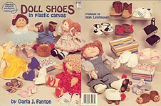 ASN Doll Shoes in Plastic Canvas