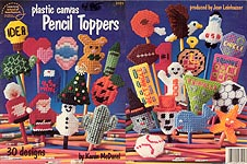 ASN Plastic Canvas Pencil Toppers