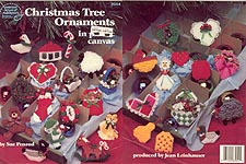 ASN Christmas Tree Ornaments in Plastic Canvas