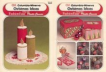 Columbia- Minerva Christmas Ideas made with Fashion Ease Plastic Canvas