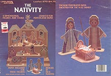 LA The Nativity (Charted for Perforated Paper)