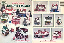 ASN Plastic Canvas Santa's Village