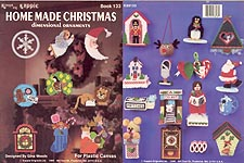Kappie Plastic Canvas Home Made Christmas Dimensional Ornaments