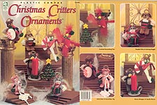 TNS Plastic Canvas Christmas Critters Ornaments