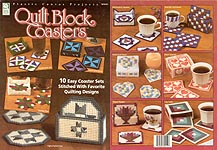 ASN Plastic Canvas Quilt Block Coasters