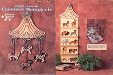 Annie's Attic Plastic Canvas Carousel Menagerie