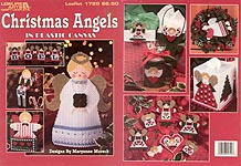 LA Christmas Angels in Plastic Canvas