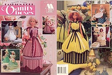 Annie's Attic Plastic Canvas Fashion Doll Vanity Boxes