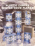 Needlecraft Ala Mode Plastic Canvas Winter Snow Flakes