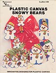 Needlecraft Ala Mode Plastic Canvas Snowy Bears