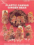 Needlecraft Ala Mode Plastic Canvas Ginger Bears