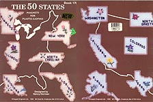 Kappie Originals The 50 States Magnets for Plastic Canvas