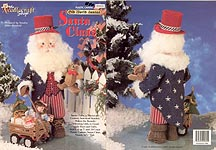 Plastic Canvas Old World Santas: Santa Claus