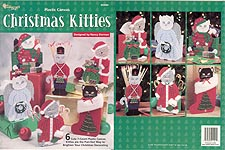 TNS Plastic Canvas Christmas Kitties