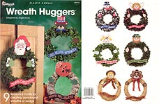 TNS Plastic Canvas Wreath Huggers