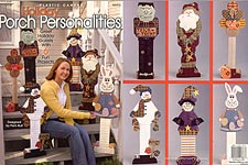 TNS Plastic Canvas Holiday Porch Personalities