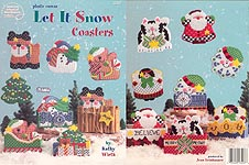 ASN Plastic Canvas Let It Snow Coasters