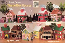 ASN Plastic Canvas Tissue Box Houses