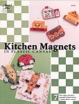 Annie's Attic Kitchen Magnets in Plastic Canvas