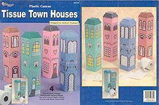 TNS Plastic Canvas Tissue Town Houses