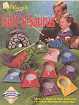 TNS Plastic Canvas Golf- O- Saurus