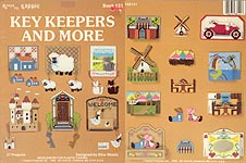 Kappie Plastic Canvas Key Keepers and More