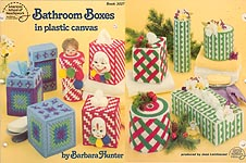 ASN Bathroom Boxes in Plastic Canvas