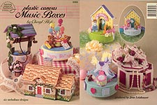 ASN Plastic Canvas Music Boxes