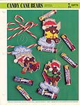 Annie's International Plastic Canvas Club: Candy Cane Bears
