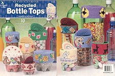 Annie's Attic Plastic Canvas Recycled Bottle Tops