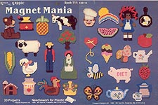 Kappie Originals Plastic Canvas Magnet Mania