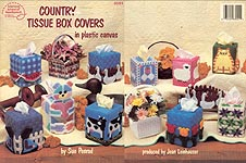 ASN Country Tissue Boxes in Plastic Canvas